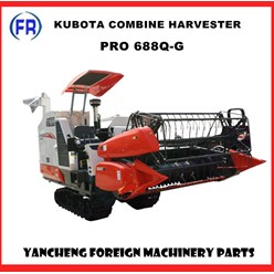 Máy gặt đập liên hợp kubota 688Q-G