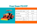Front Dozer FD185F