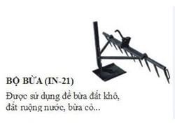 Bộ bừa IN-21