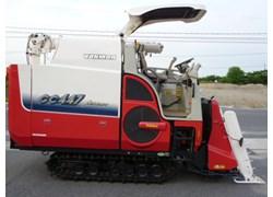 Máy gặt đập liên hợp Yanmar GC447 đời mới