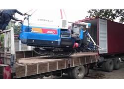 Máy gặt đập liên hợp Iseki 560