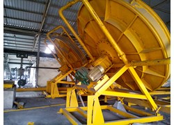 Máy vê viên 2 nòng đường kính chảo D4000