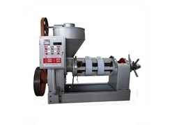 Máy ép dầu tự động guangxin YZYX10-6(8/9)WK