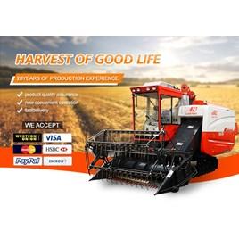 Máy gặt đập liên hợp 4LZ-4.0 (Có máy điều hòa không khí)