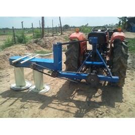 Máy cắt cỏ voi, bắp xếp dãy 8-10ha/ngày
