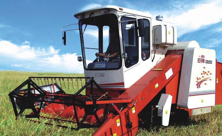Máy gặt đập liên hợp FOTON LOVOL DB200 hinh anh 1