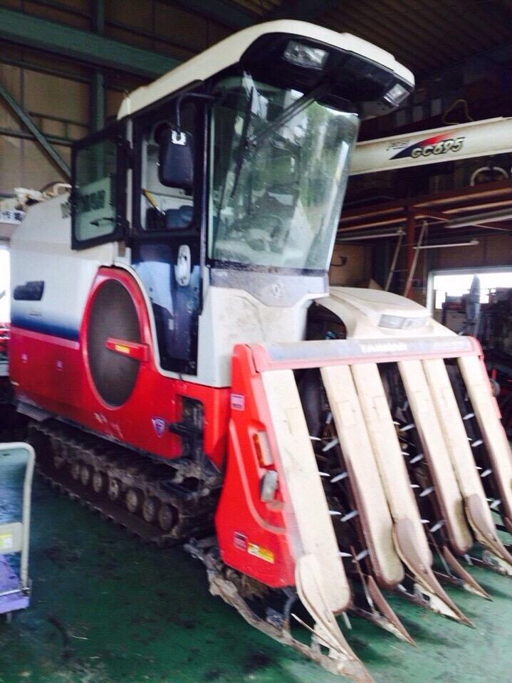 Máy gặt đập liên hợp Yanmar GC90 hinh anh 1