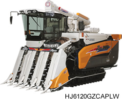 Máy gặt đập liên hợp ISEKI HJ6120 hinh anh 1