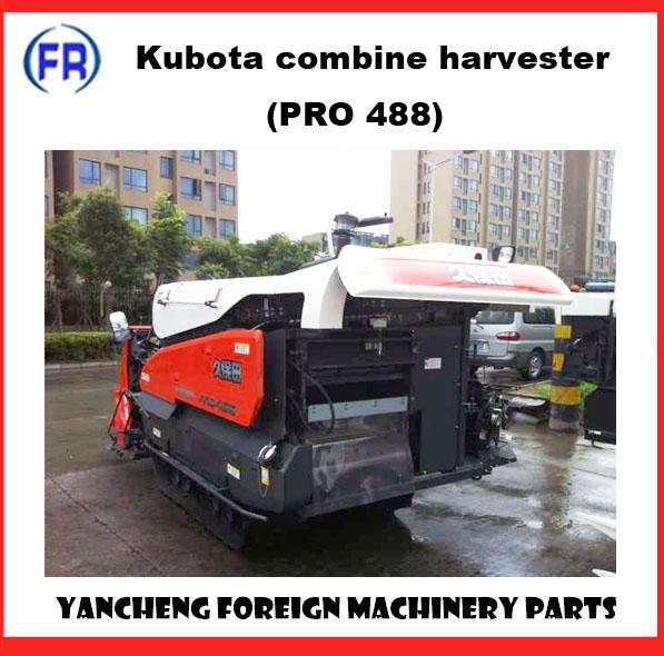 Máy gặt đập liên hợp kubota pro 488 hinh anh 1