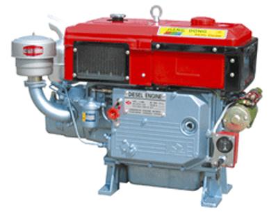 Động cơ Diesel JIANG YANG S1100N (17HP)(Hệ thống làm mát bằng Gió) hinh anh 1