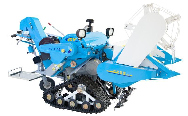 Máy gặt lúa KUSAMI 4L-0.9B hinh anh 1