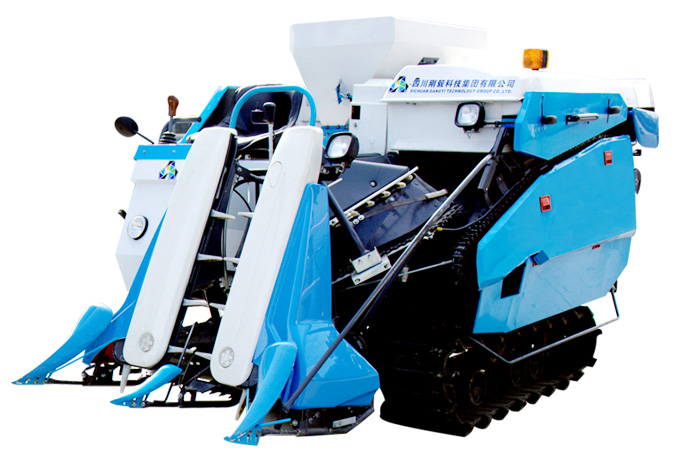 Máy gặt lúa KUSAMI 4LBZ-105 hinh anh 1
