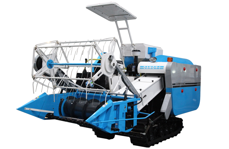 Máy gặt lúa KUSAMI 4LZ-1.6 hinh anh 1