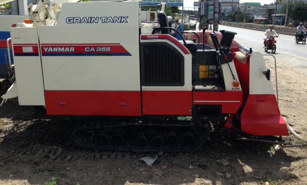 Máy gặt đập liên hợp Yanmar CA355 hinh anh 1
