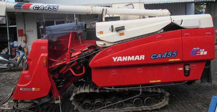 Máy gặt đập liên hợp Yanmar CA455 hinh anh 1