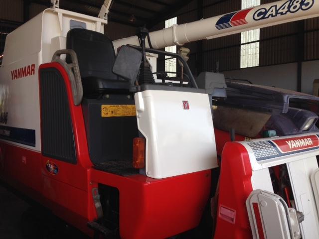 Máy gặt đập liên hợp Yanmar CA485 hinh anh 1