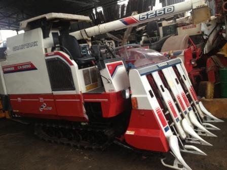 Máy gặt đập liên hợp Yanmar CA 525D hinh anh 1