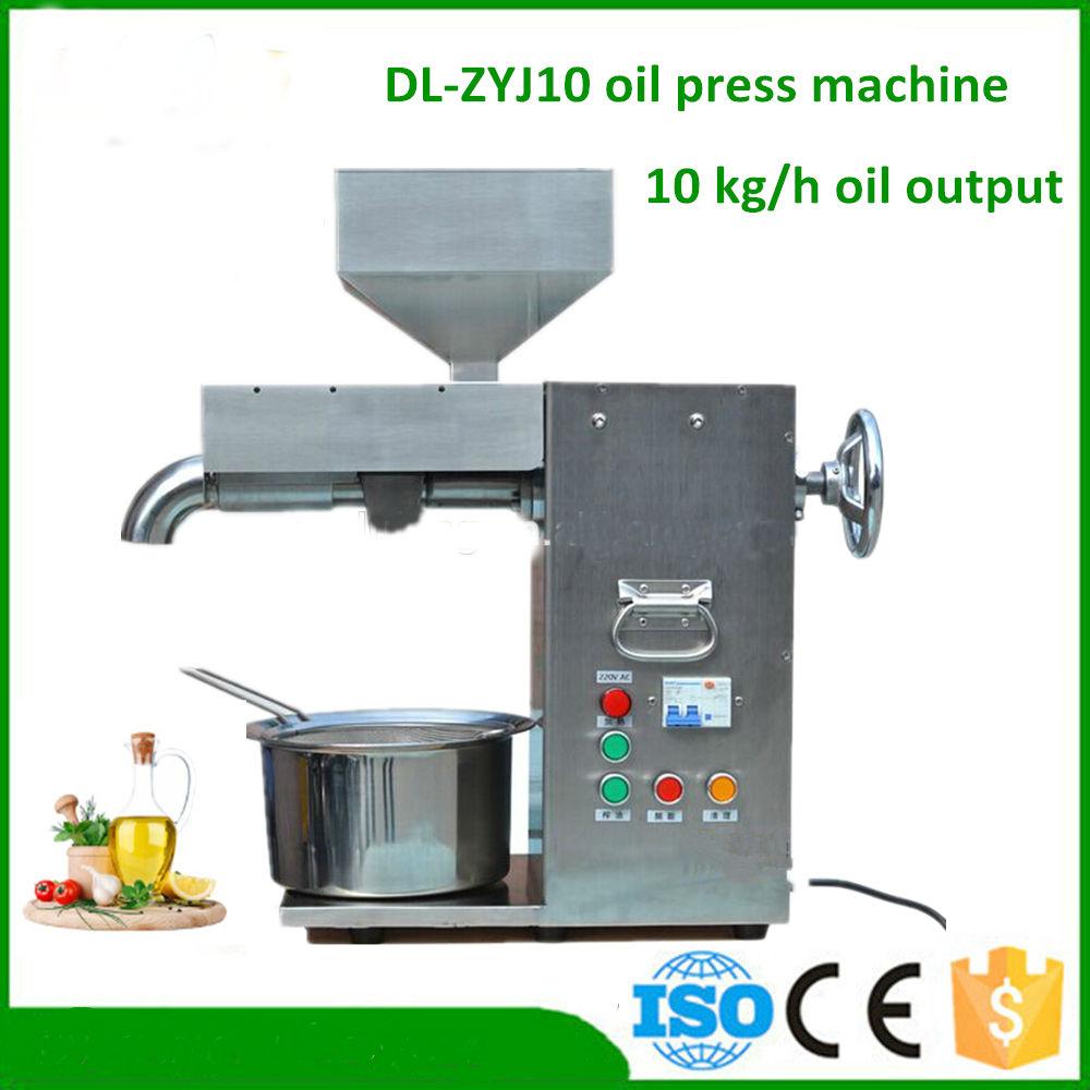 Máy ép dầu thực vật DL-ZYJ10 hinh anh 1