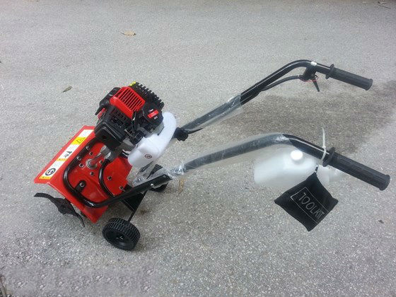 Máy xạc cỏ đẩy tay động cơ 2 thì VN-979 hinh anh 1
