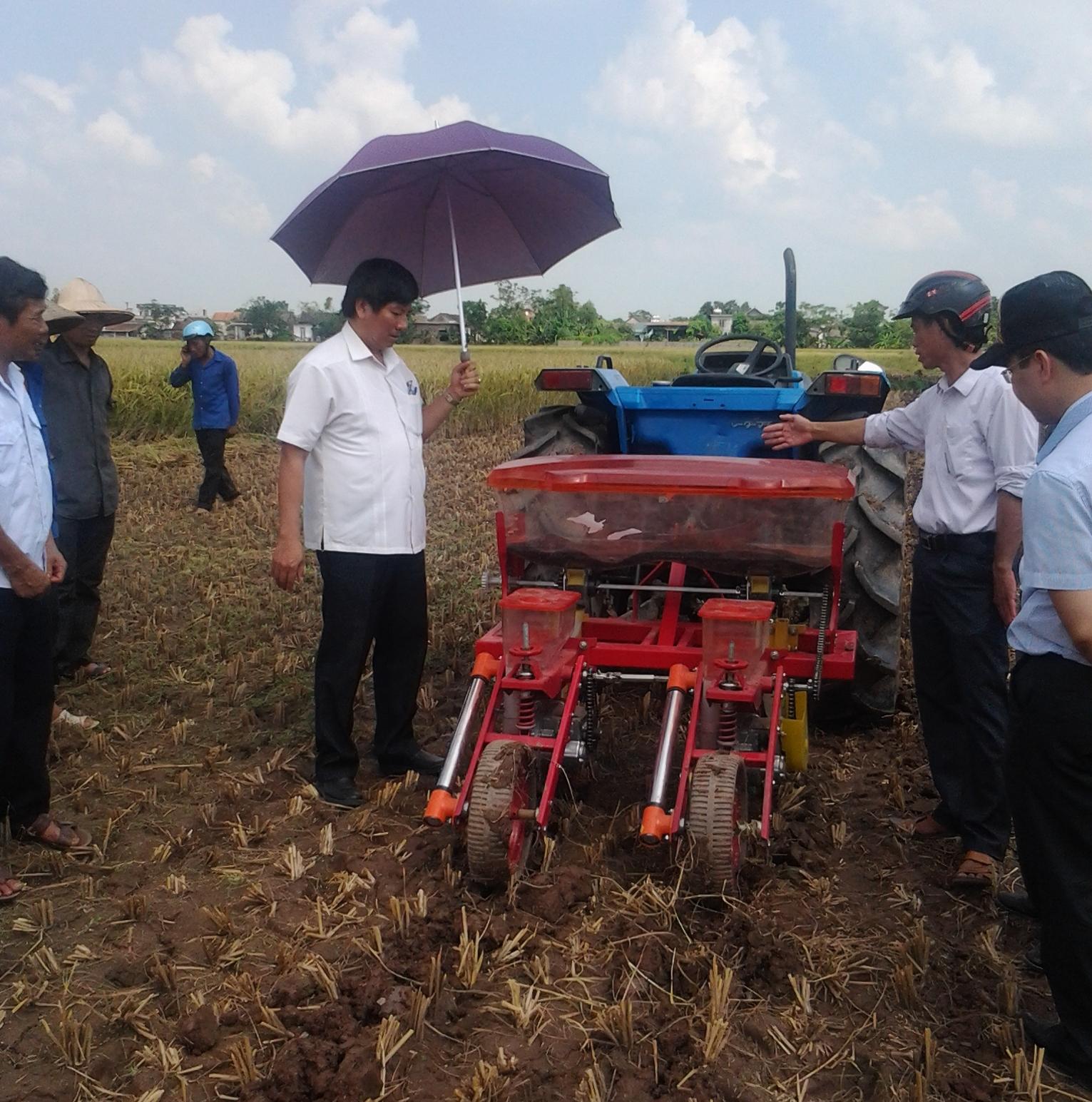 Máy gieo trồng ngô bắp đậu tương hinh anh 1