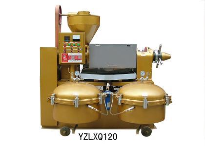 Máy ép dầu YZLXQ120 hinh anh 1