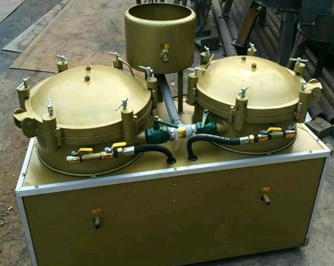 Bình lọc dầu khí nén BLD2018 hinh anh 1