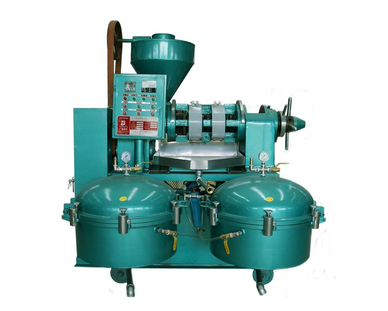 Máy ép dầu tự động guangxin YZLXQ130 hinh anh 1