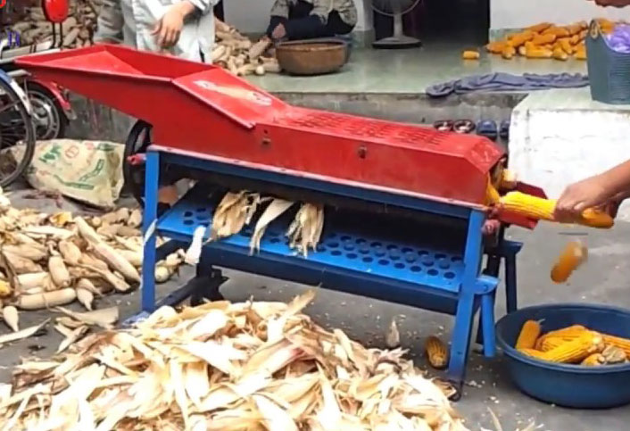 Máy bóc bẹ ngô chạy điện OKASU OKA-04 hinh anh 1