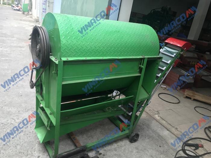 Máy tuốt lạc liên hoàn chạy động cơ dầu  hinh anh 1