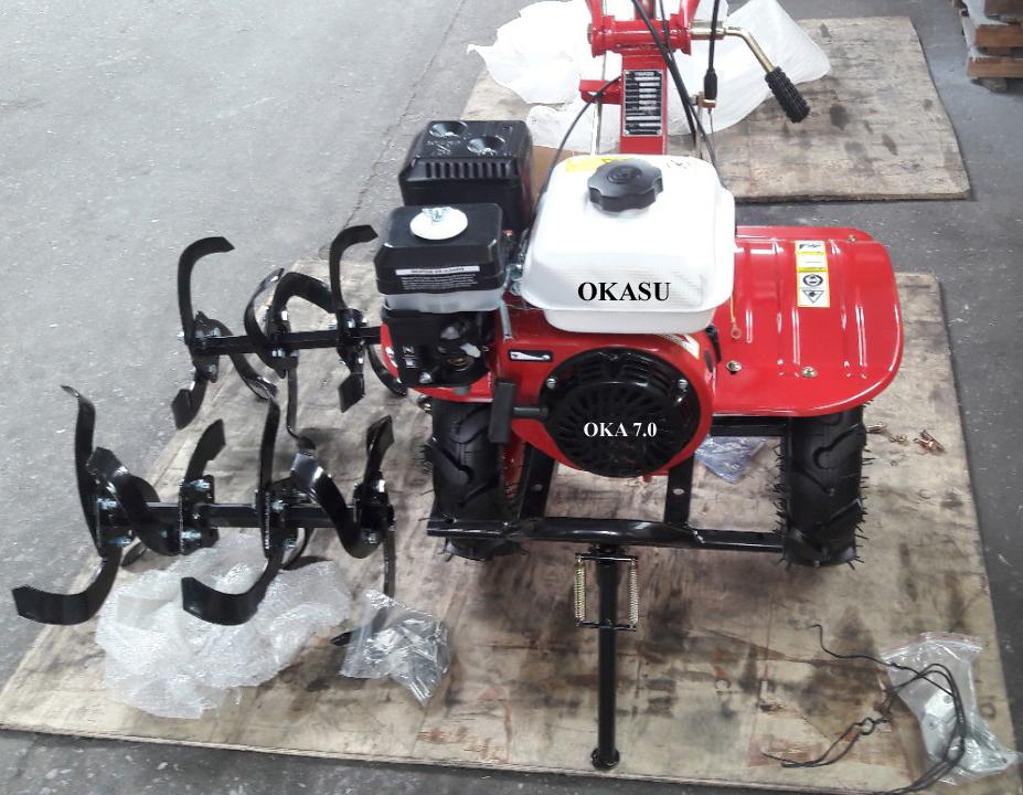 Máy xới đất đa năng OKASU OKA 7.0 (Chạy xăng) hinh anh 1