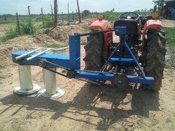 Máy cắt cỏ voi, bắp xếp dãy 8-10ha/ngày hinh anh 1