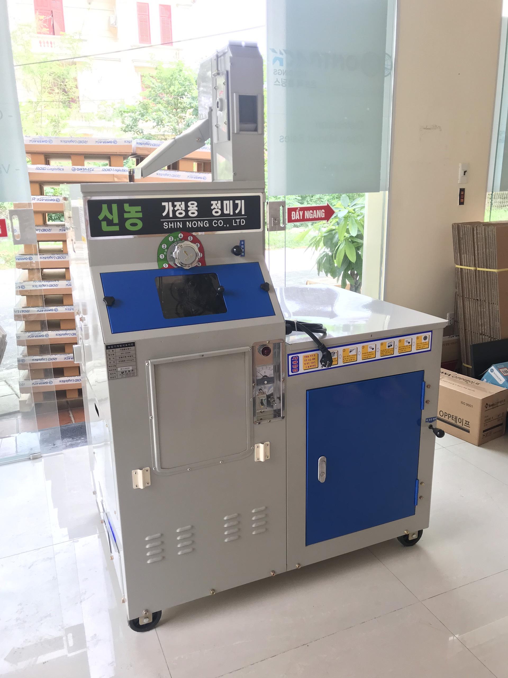Máy xát gạo nhập khẩu Hàn Quốc Shinnong SN 300R hinh anh 1