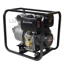 Máy bơm nước chạy dầu diesel 8.5KW/11.3HP Lutian 100KB-4 hinh anh 1