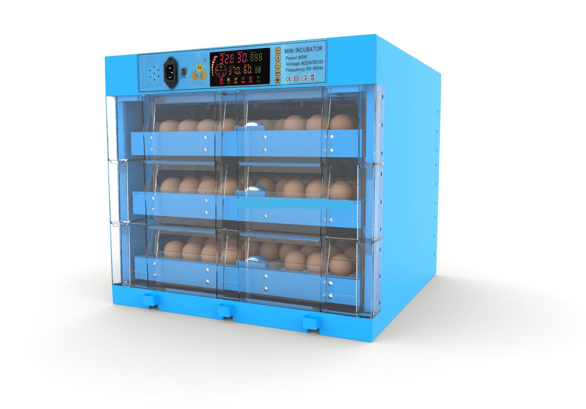 Máy ấp trứng gà lớn tự động WQ-180 hinh anh 1