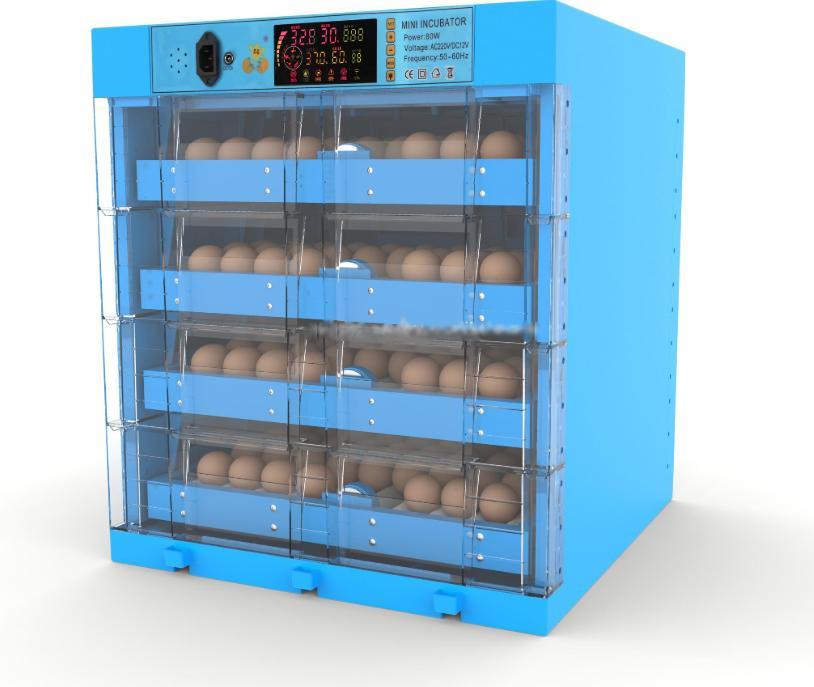 Máy ấp trứng gà lớn tự động WQ-240 hinh anh 1