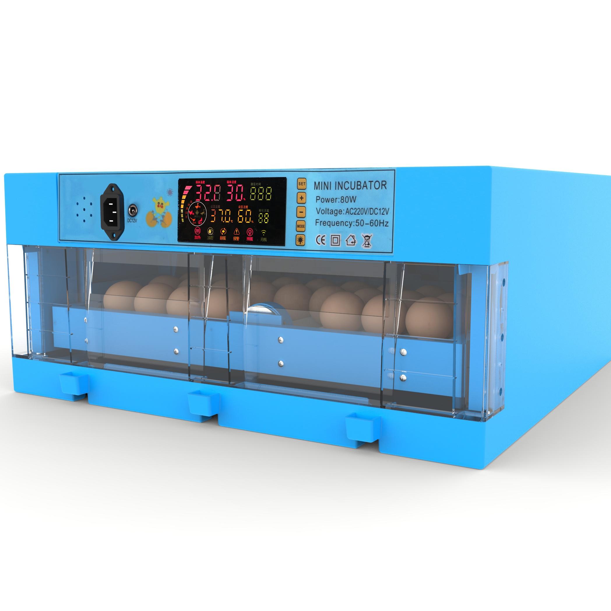 Máy ấp trứng gà lớn tự động WQ-W60 hinh anh 1