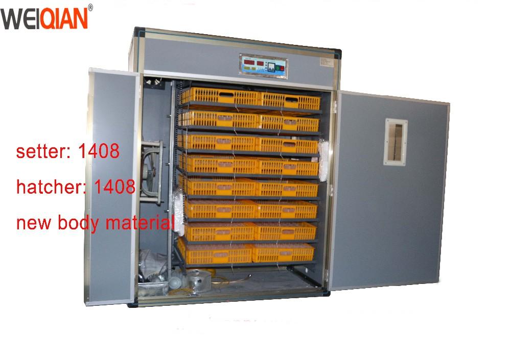 Máy ấp trứng gia cầm tự động Weiqian WQ-1408 hinh anh 1