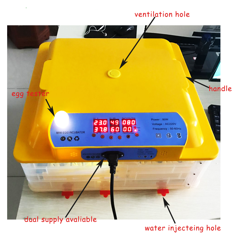 Máy ấp trứng gà mini tự động Weiqian WQ-36N hinh anh 1