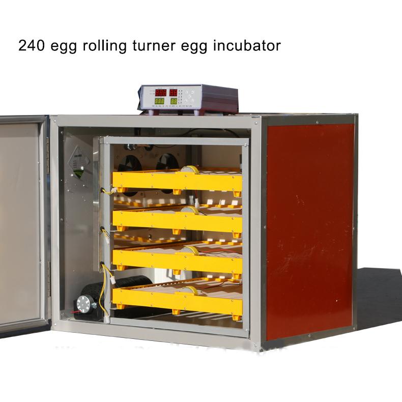 Máy ấp trứng gia cầm tự động Weiqian WQ-240 hinh anh 1