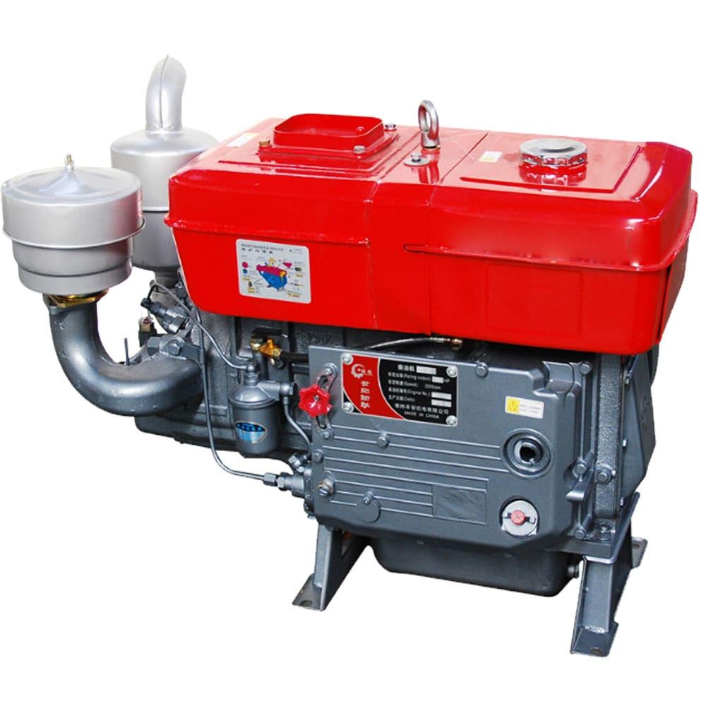 Máy nổ Diesel D10 mát nước hinh anh 1