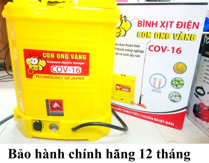 Bình Xịt Điện COV 16D hinh anh 1