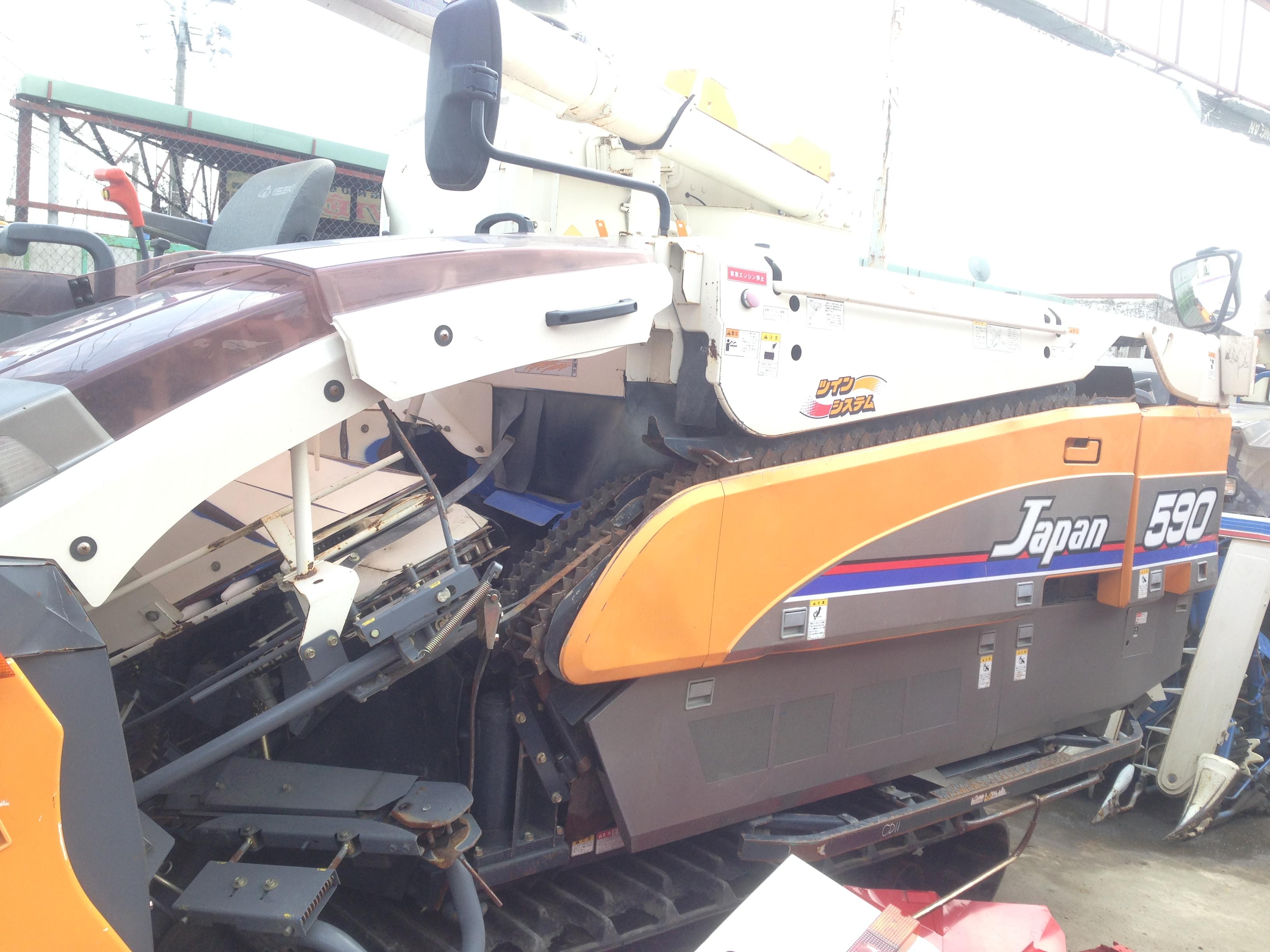 Máy gặt đập liên hợp Iseki Japan 590 hinh anh 1