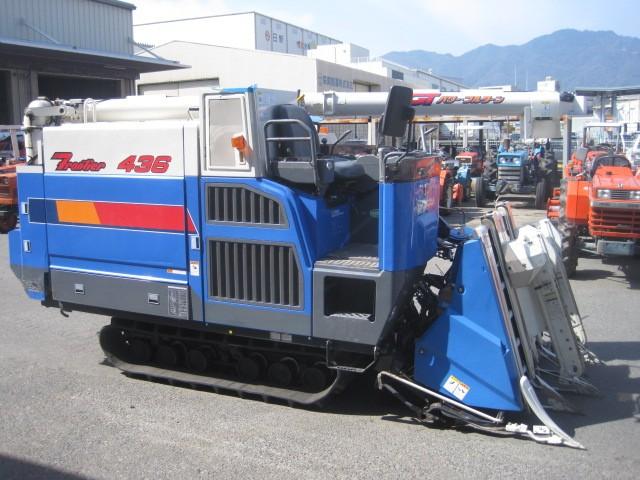Máy gặt đập liên hợp Iseki HA436G hinh anh 1