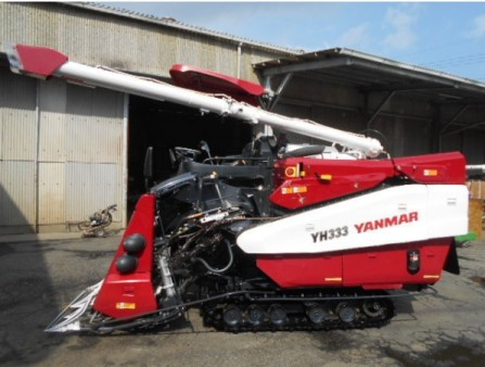 Máy gặt đập liên hợp Yanmar YH333 hinh anh 1