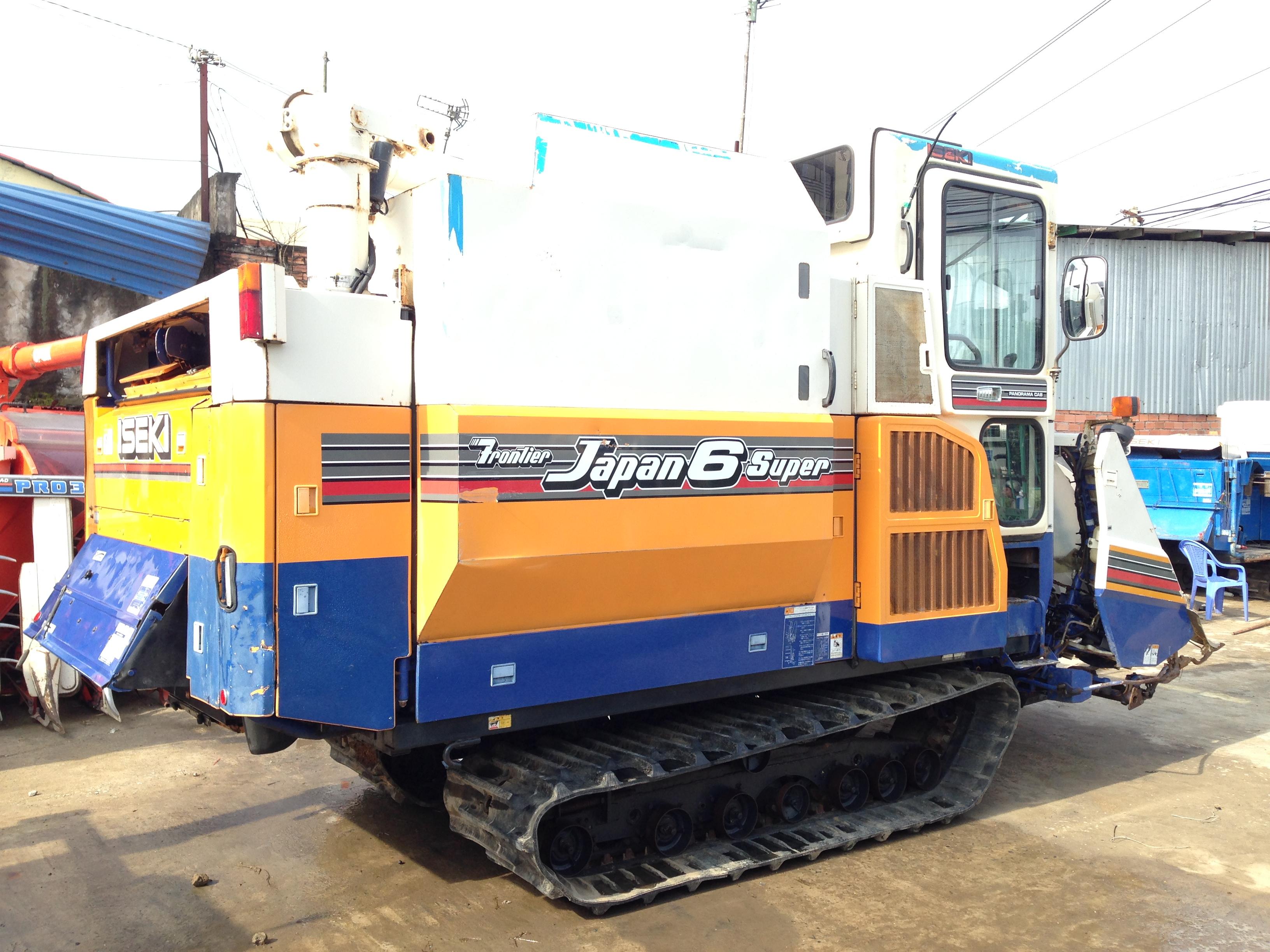 Máy gặt đập liên hợp Iseki Japan6 hinh anh 1
