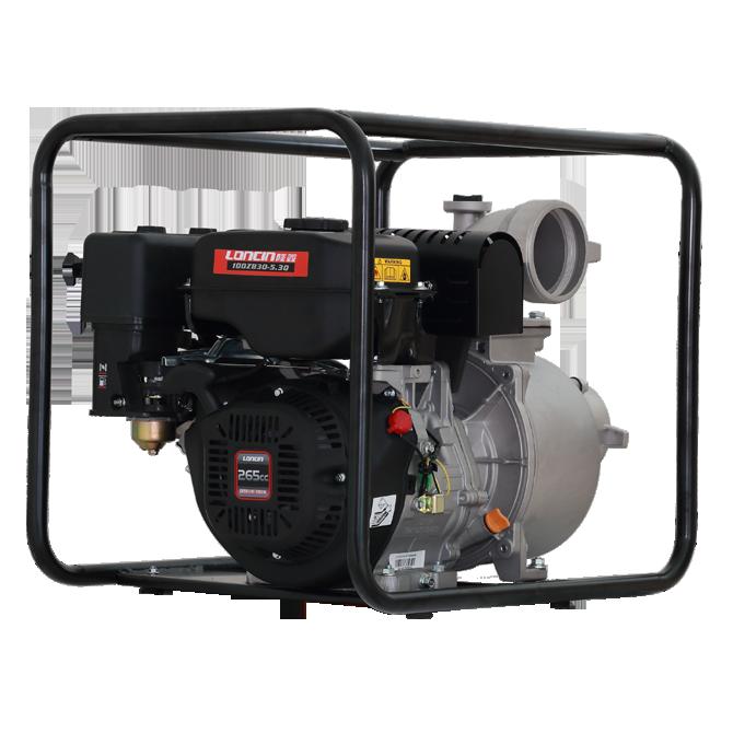 Máy bơm nước Loncin LC100ZB30-5.3Q ống 4'' hinh anh 1