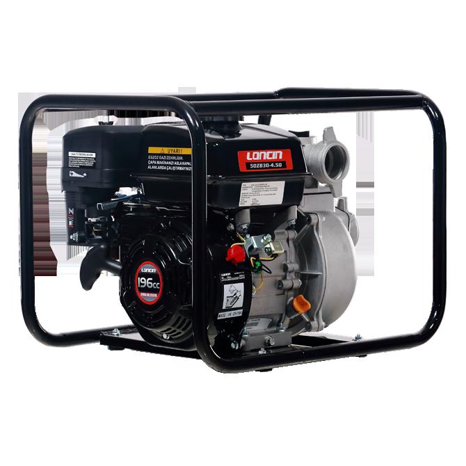 Máy bơm nước Loncin LC50ZB30-4.5Q ống 2'' hinh anh 1
