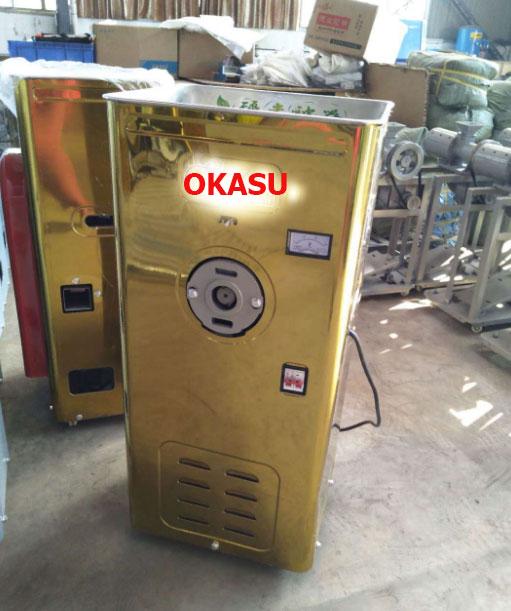 Máy xay xát gạo kiểu tủ OKASU 6NS-4 hinh anh 1