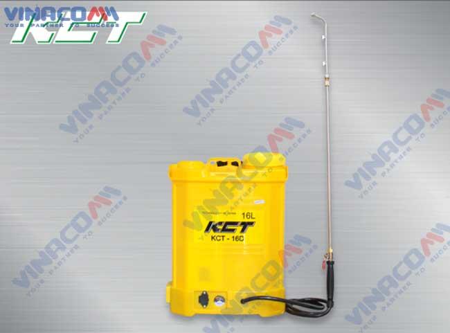 Bình Xịt Điện KCT 16D hinh anh 1
