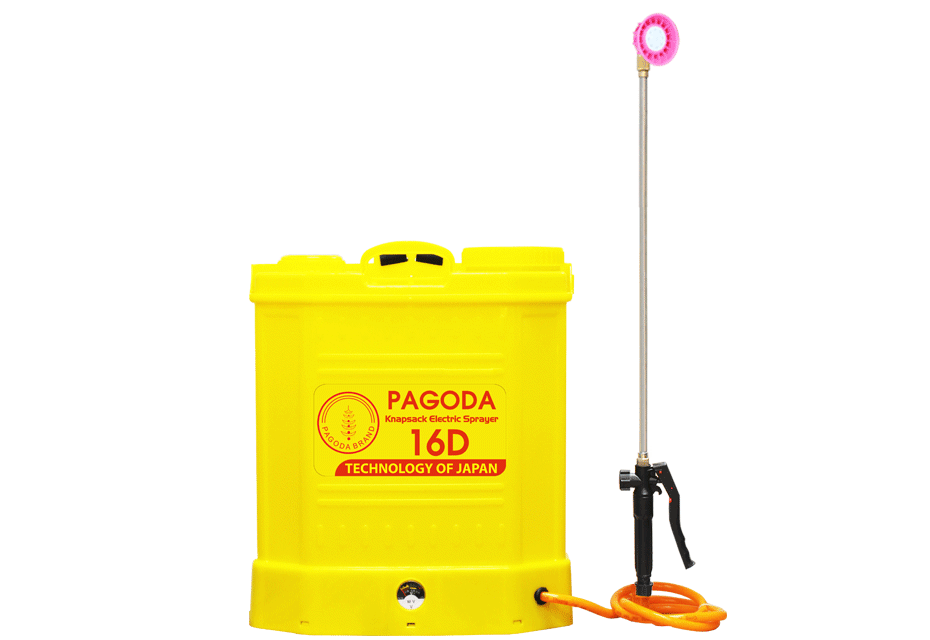 Bình Xịt Điện PAGODA 16D hinh anh 1